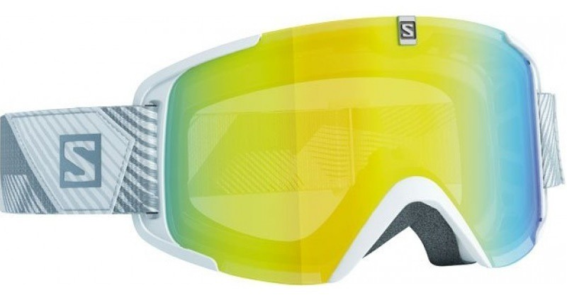 Горнолыжные очки Salomon X-View White/LoLight LightYellow