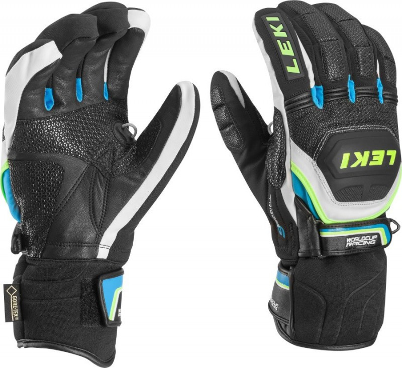 Перчатки Worldcup Race Coach Flex S GTX black/blue (Leki)