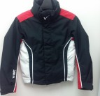 Куртка детская Vist Jason Ski Jacket Jr Black/Rubi/White