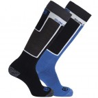 Носки Salomon Elios 2 Pack Black/Union Blue 355960