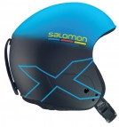 Шлем горнолыжный Salomon X RACE SLAB Blue/Black Matt