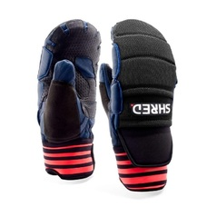 Рукавицы унисекс Shred Ski Race Protective Mittens navy/rust