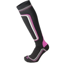 Носки Mico Woman Superthermo Ski socks nero prune