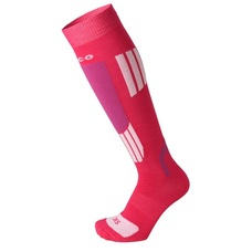 Носки Mico Kids ski socks in merino wool magenta