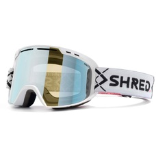 Очки горнолыжные Shred Amazify bigsnow white, cbl ski mirror