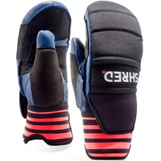 Рукавицы юниорские Shred Ski Race Protective Mittens mini navy/rust
