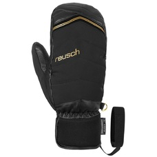 Варежки женские Reusch Lara Gut-Behrami R-Tex XT black/gold