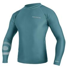 Гидромайка мужская NP Mission Rashguard L/S C2 Hot Teal